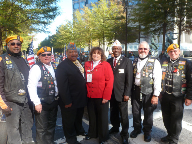Team Georgia at Atlanta Veterans Day Parade 2014